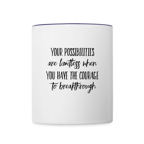 Limitless Possibilities - Contrast Coffee Mug