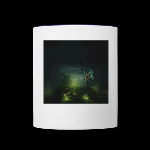 A Rest On Firefly Path - Contrast Coffee Mug
