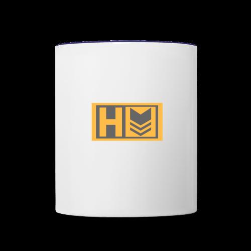 Copy of Hammer Down Logo (Small) - Contrast Coffee Mug