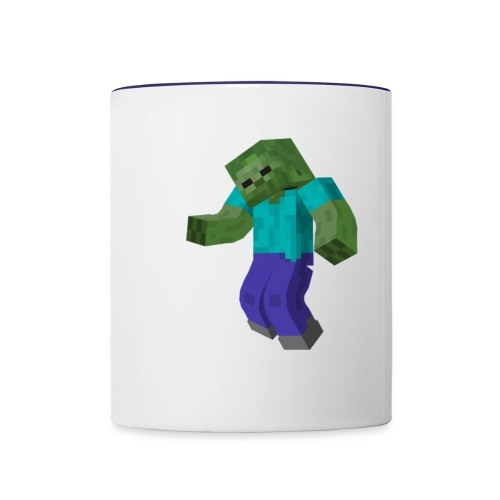 Mine-craft animation to go - Contrast Coffee Mug