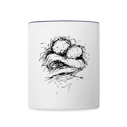 The Timeless Hug - Contrast Coffee Mug