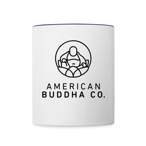 AMERICAN BUDDHA CO. ORIGINAL - Contrast Coffee Mug