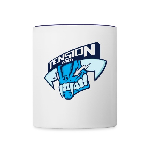 Tension eSports Logo - Contrast Coffee Mug