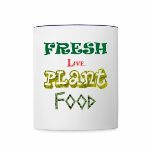 Fresh Live Plant Food - Contrast Coffee Mug