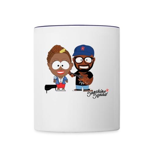 Sunshine Squad - Contrast Coffee Mug