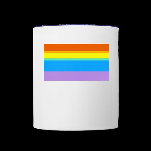Modern Rainbow II - Contrast Coffee Mug
