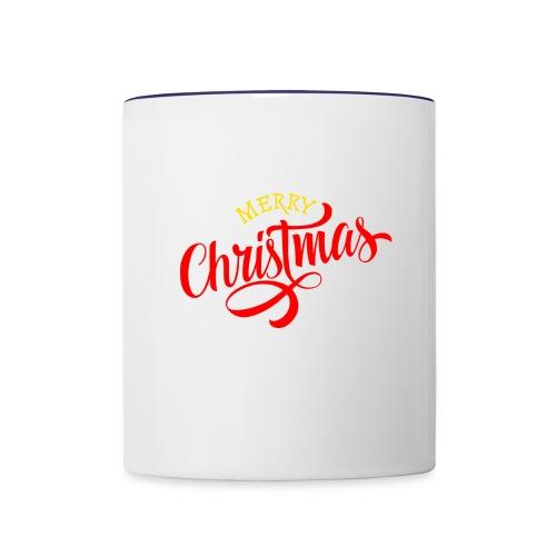 Christmas Design - Contrast Coffee Mug