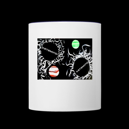 Falling into The K Hole by KetaMind - Contrast Coffee Mug