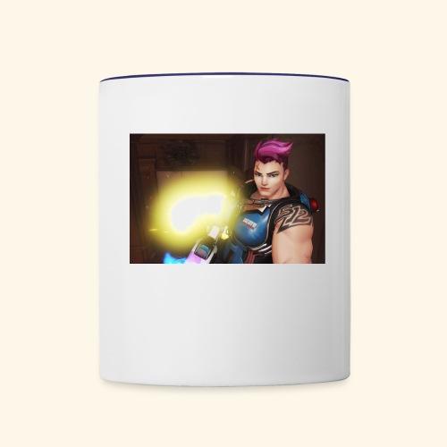 Overwatch Zarya - Contrast Coffee Mug