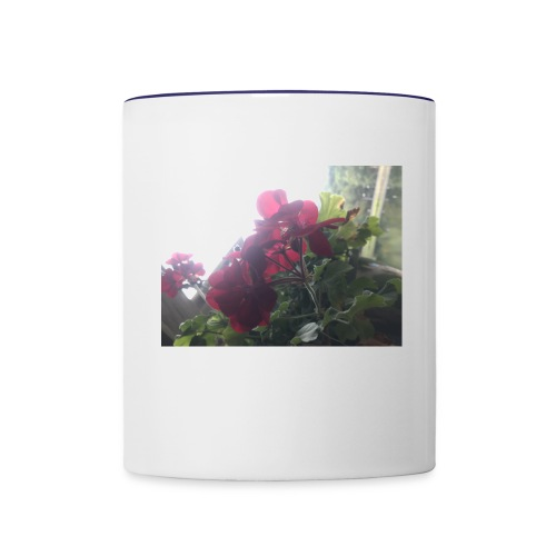Flower mug - Contrast Coffee Mug