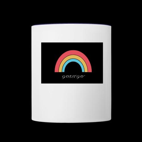 Gayest Gay Rainbow - Contrast Coffee Mug