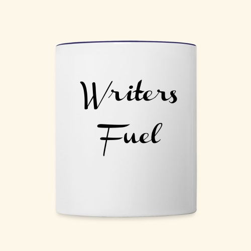 Writers Fuel - Gifts for Writers Authors Creatives - Contrast Coffee Mug