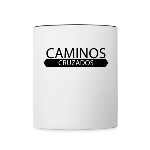 Caminos Cruzados logo básico - Contrast Coffee Mug
