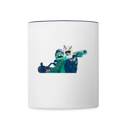 one - Contrast Coffee Mug