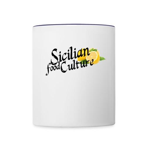 Sicilian Food Culture - Contrast Coffee Mug