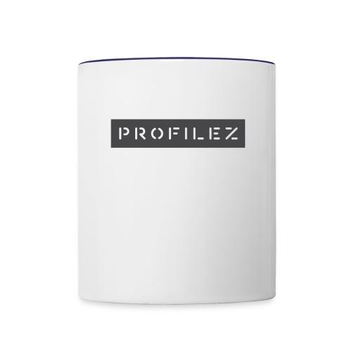 logo white background - Contrast Coffee Mug