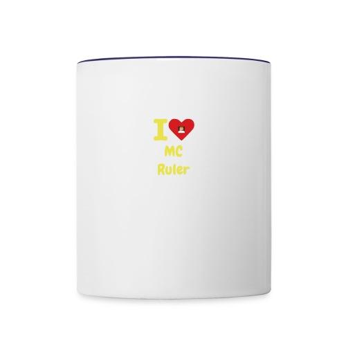 I Heart MC Ruler - Contrast Coffee Mug