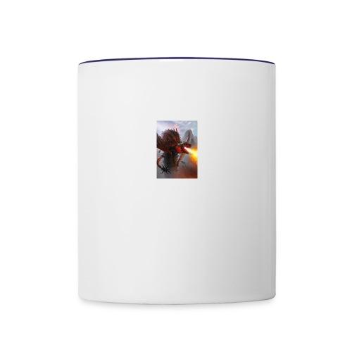 kevin - Contrast Coffee Mug