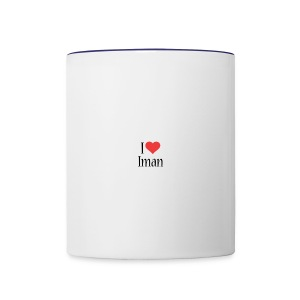 Iman designstyle i love mm - Contrast Coffee Mug