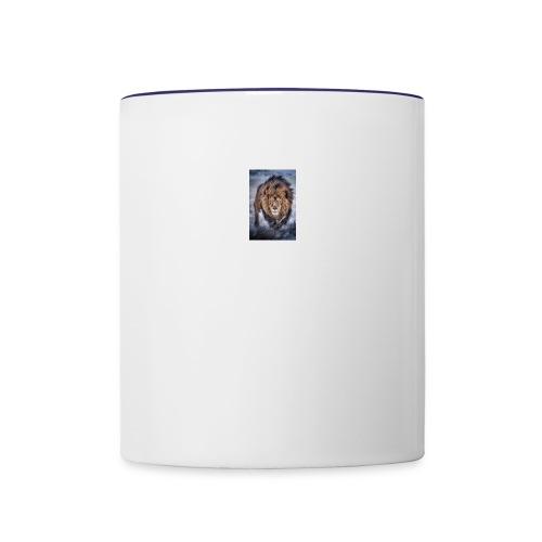 small lion - Contrast Coffee Mug