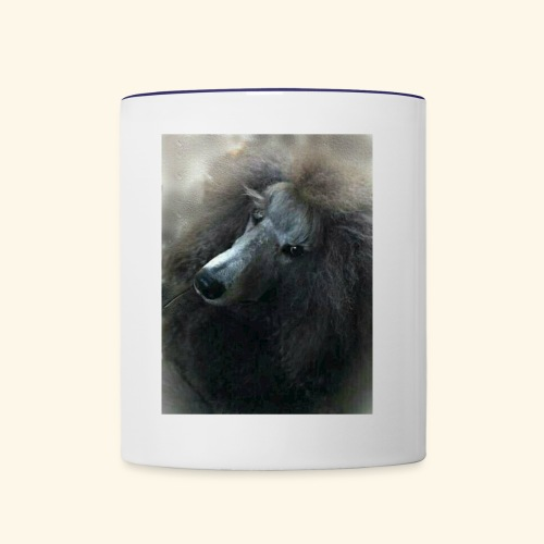 Standard Poodle - Contrast Coffee Mug
