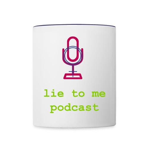 lie2melogo2 - Contrast Coffee Mug