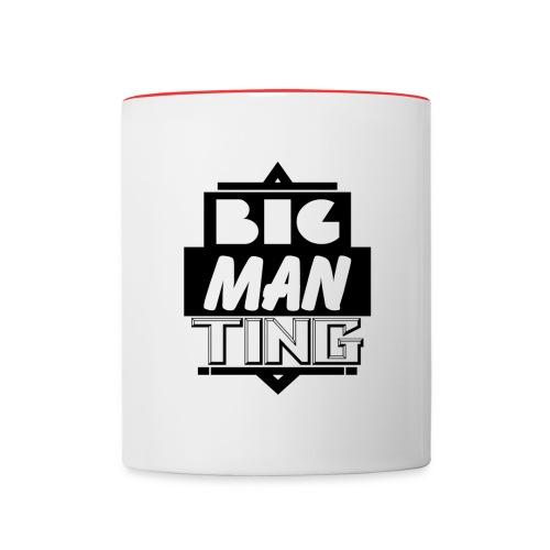 Big man ting - Contrast Coffee Mug