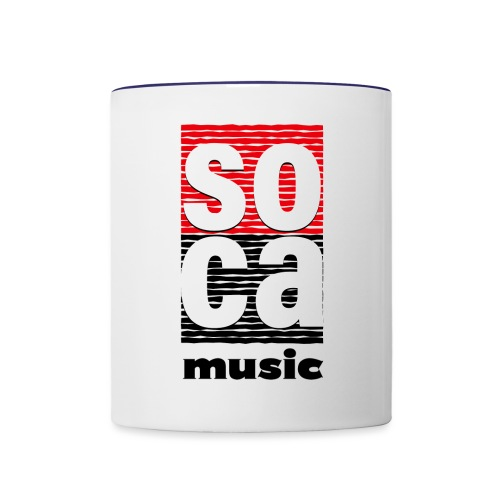 Soca music - Contrast Coffee Mug