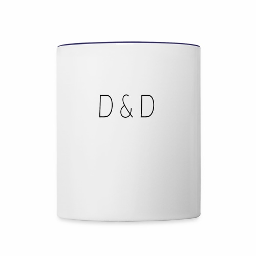 D and D - Contrast Coffee Mug