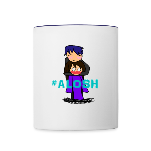 #ALOSH4LIFE - Contrast Coffee Mug