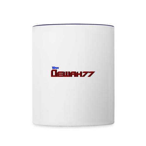Team Dewah77 - Contrast Coffee Mug