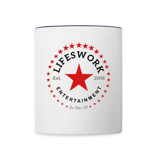 Lifeswork Entertainment - Contrast Coffee Mug