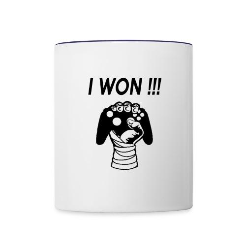 I WON - Contrast Coffee Mug