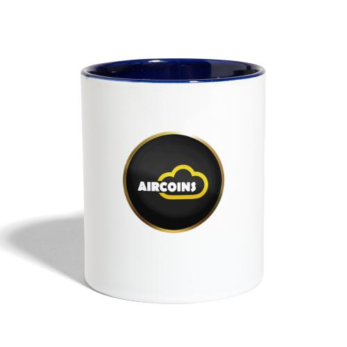 Aircoins Coin 1 - Contrast Coffee Mug