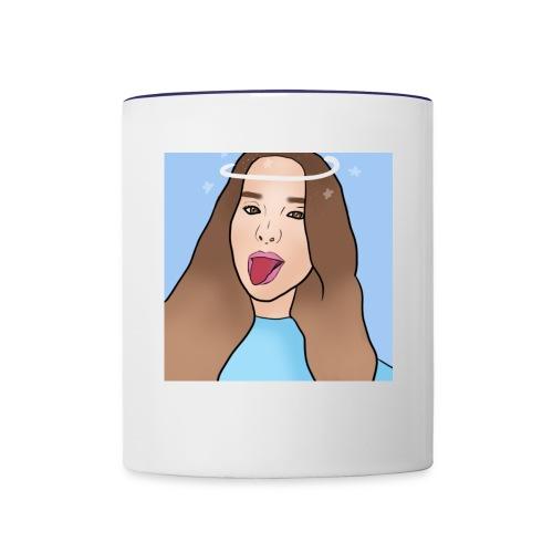 Annie Halo design - Contrast Coffee Mug