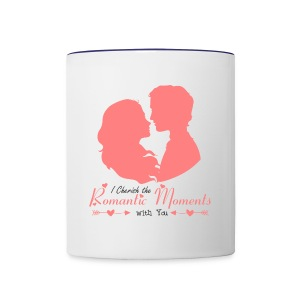 Romance in moments - Contrast Coffee Mug