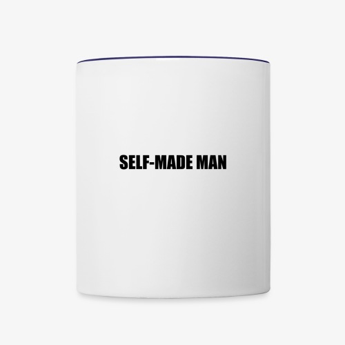 Self Made Man Black - Contrast Coffee Mug