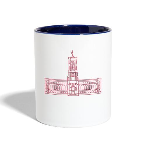 Red City Hall Berlin - Contrast Coffee Mug