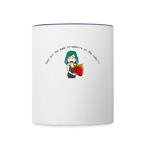 Strawberry Cake! - Contrast Coffee Mug