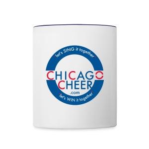 ChicagoCheer.Com - Contrast Coffee Mug