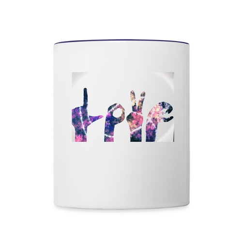 Love Hands - Contrast Coffee Mug