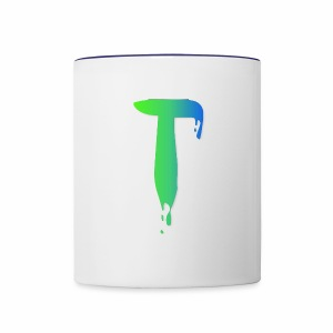 Colored Tlicker Logo - Contrast Coffee Mug