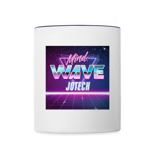 Mind Wave Artwork - Contrast Coffee Mug