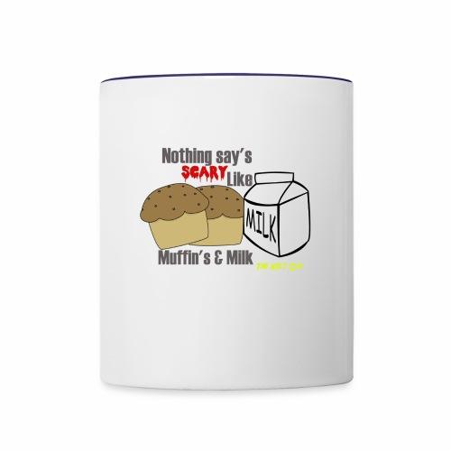muffins & milk accessories - Contrast Coffee Mug