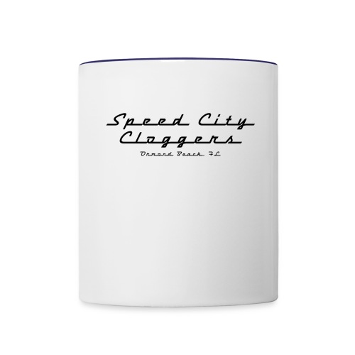 SCC in Black - Contrast Coffee Mug