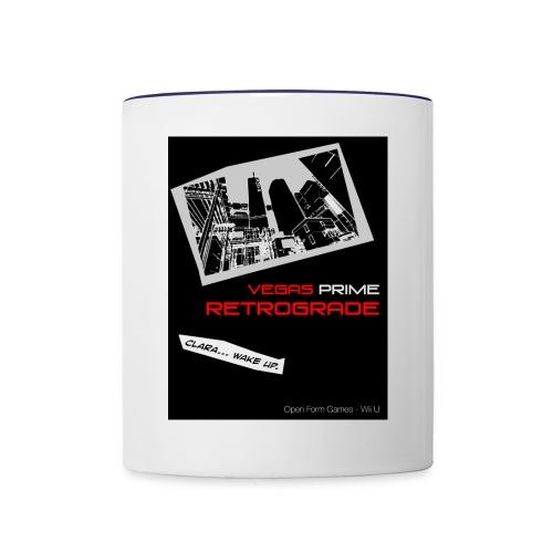Vegas Prime Retrograde - Clara Wake Up - Black - Contrast Coffee Mug