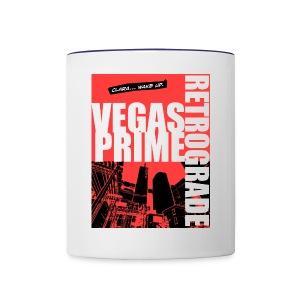Vegas Prime Retrograde - Clara Wake Up - Red - Contrast Coffee Mug