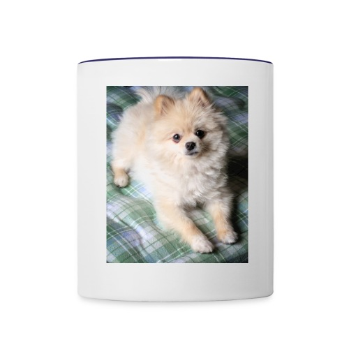 Munu dog - Contrast Coffee Mug