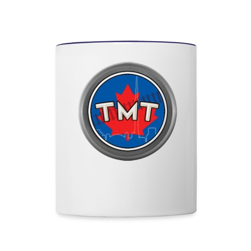 TMT White Letter Version2 - Contrast Coffee Mug