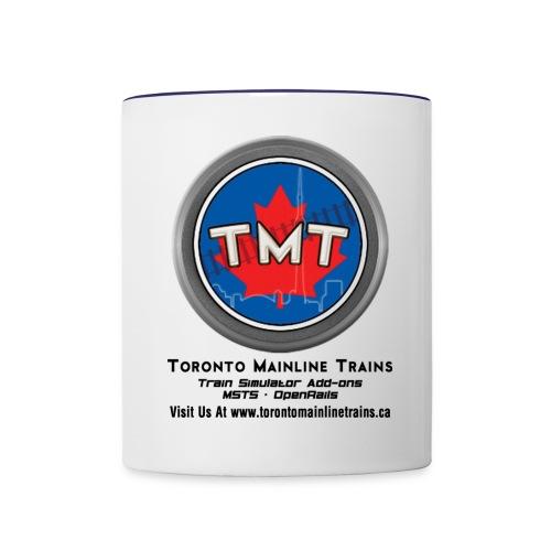 TMT Black Letters Version2 - Contrast Coffee Mug